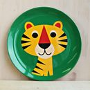 Vintage Tiger Melamine Plate