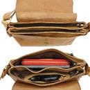 Pochette Three Poches Leather Shoulder Bag