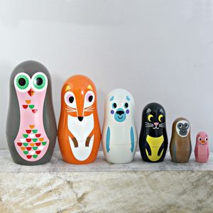 Owl And Co. Nesting Dolls - ornaments