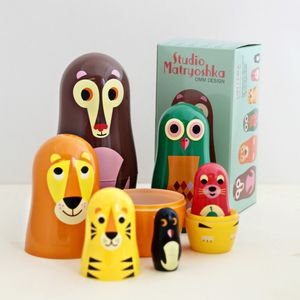 Bear And Co. Nesting Dolls - decorative accessories