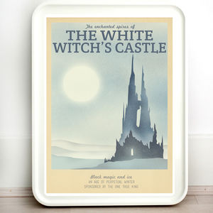 Narnia White Witch Castle Travel Print