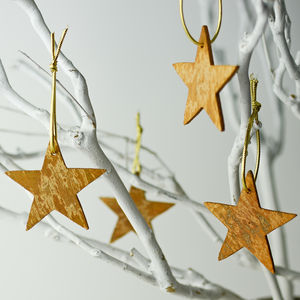 Aromatic Cinnamon Star Tree Decoration - view all decorations