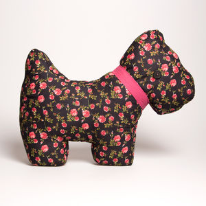 Vintage Scottie Dog Cushion