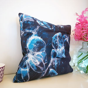 Floral Leaves Pattern Cushion
