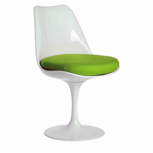 'Chair, Dining Chair, Pair Mid Century, Tulip Chair - furniture