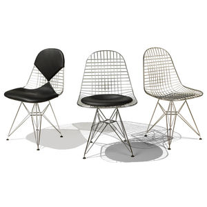 'Bikini Chair, Wire Mesh Chair - office & study