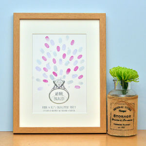Engagement Fingerprint Artwork