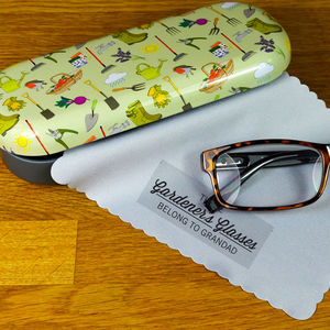 Personalised Glasses Case For Gardeners - gardener