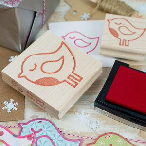 Winter Robin Rubber Stamp - view all sale items