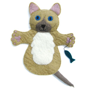 Suki The Cat Puppet - new lines added