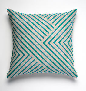 After Albers Linen Cushion Cover - cushions