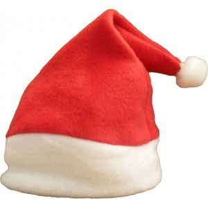 Babys First Christmas Santa Hat - babies' hats