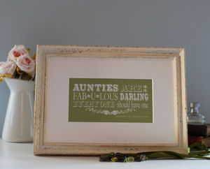 Auntie Print