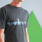 Rugby Lineout T Shirt - birthday gifts
