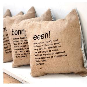 'Eeeh!' Cushion
