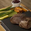 The Steak Stones Sizzling Steak Plate Set