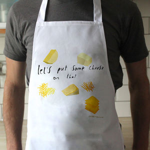 Cheese To The Rescue Apron