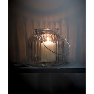 Large Cornbury Glass Votive Tealight Candle Holder - lights & lanterns
