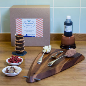 Raw Chocolate Making Kit - alcohol free gifts