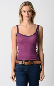 Our Navy Microstripe Camisole - tops & t-shirts
