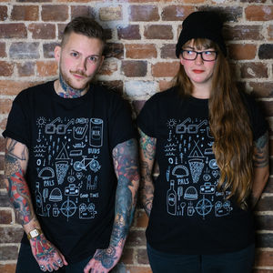 Unisex 'Good Times' T Shirt - Mens T-shirts & vests