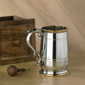 Personalised Jacobean Style Tankard - beer & cider glasses