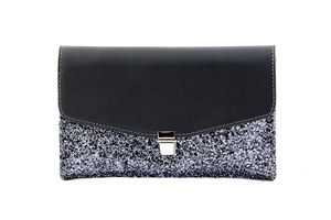The Betsy In Pewter - evening bags