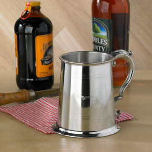 Personalised Hand Made One Pint Tankard - outdoor living