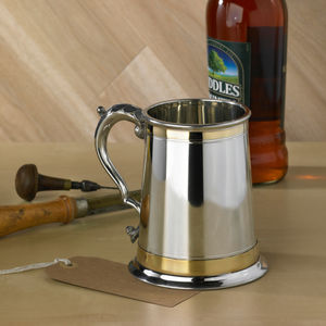 Regency Tankard Personalised For Free - mugs