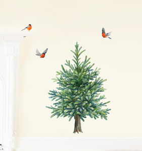Fir Tree Wall Stickers - baby's room