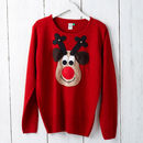 Ladies Christmas Jumper front