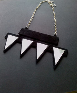 Lille Recycled Suede Necklace - necklaces & pendants