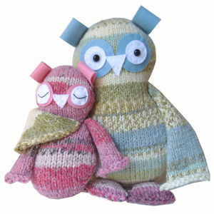 Two Hoots Owls Knitting Kit