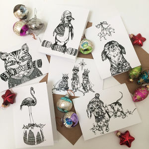 Ink Inc Christmas Card Pack - cards
