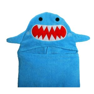 Sherman The Shark Hooded Towel - swimwear & beachwear