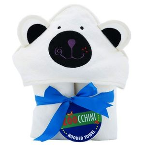 Baby Polar Bear Hooded Towel