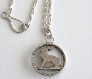 Silver Hare Necklace - necklaces & pendants
