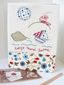 Personalised Travel Lovers Diary