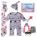 London Theme Baby Boys' Gift Set