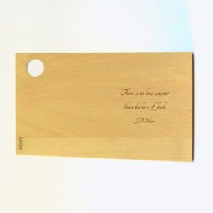Classy Quotes Beech Wood Serving Board - chopping boards