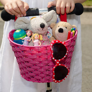 Scooter Basket - toys & games