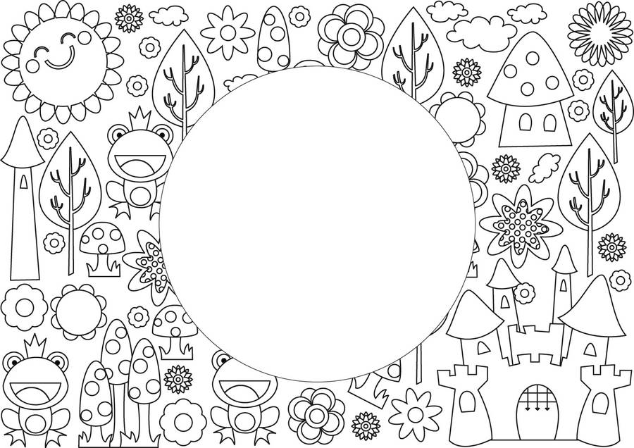 colour in placemats by funwall | notonthehighstreet.com
