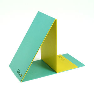 Bookends, Turquoise And Yellow - stationery