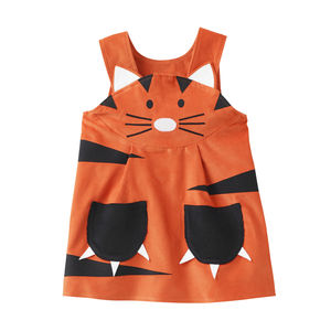 Tiger Girls Play Dress Up Costume - children's parties