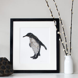 Penguin Print - animals & wildlife