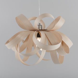 Tom Raffield Skipper Pendant Wooden Lampshade - ceiling lights