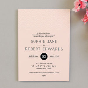 Millie Wedding Invitations