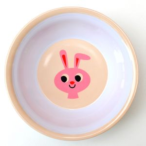 Vintage Rabbit Melamine Bowl - tableware