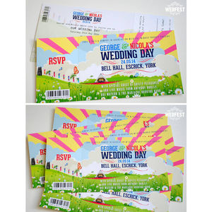 Wedfest Wedding Invites - invitations
