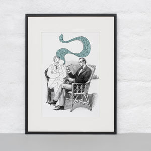 Wondering Whether Brother Mycroft Print - posters & prints